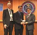 Aaron Steinfeld and John Zimmerman, Tiramisu Transit, Accept Geo-location Solutions Award