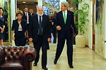 Secretary Kerry Arrives for Meeting With Prime Minister Netanyahu