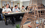 How do you make a green Eiffel Tower?