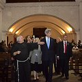 Secretary Kerry Tours the San Francisco Church
