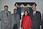 (Left to Right): USAID Provincial Director Jeffrey Bakken, CEO LESCO Muhammad Arshad Rafiq, U.S. Consul General Nina Maria Fite, and USAID Mission Director Gregory Gottlieb inaugurating the Power Distribution Control Center at LESCO
