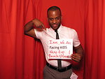 I AM, WE ARE FACING AIDS. Wrap it up because U CARE!
