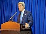 Secretary Kerry Addresses Reporters in Amman, Jordan
