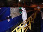 December 2009, washing the filter press cloths