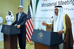 Secretary Kerry Addresses Reporters With Qatari Prime Minister and Foreign Minister Sheikh Hamad bin Jassim Al Thani
