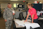 CSM Buxbaum visits Joint Federal Project office