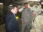 Assistant Secretary Hammer Meets With U.S. Troops