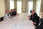 Secretary Clinton Holds a Bilateral Meeting With Azerbaijan Foreign Minister Mammadyarov