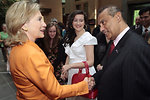 Secretary Clinton Meets With Consulate Melbourne Staff and Their Families