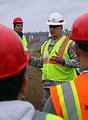 Sacramento State engineering students get a Folsom site tour