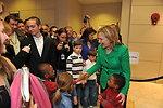 Secretary Clinton Meets With Children at the U.S. Embassy Tashkent