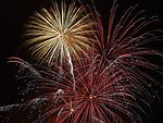 English:    Image title: Beautiful sky with fireworks Image from Public domain images website, http://www.public-domain-image.com/full-image/miscellaneous-public-domain-images-pictures/fireworks-public-domain-images-pictures/beautiful-sky-with-fireworks.