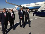 Secretary Kerry Arrives in Moscow