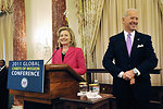 Secretary Clinton Introduces Vice President Biden