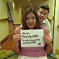 We are Facing AIDS to help prevent the spread of HIV.