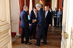 Secretary Kerry Says Goodbye To Fellow Ministers