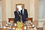 Secretary Kerry Meets With Syrian Opposition Coalition Chairman Ahmed Assi al-Jarba
