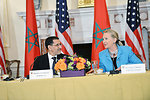 Secretary Clinton Delivers Remarks With Moroccan Foreign Minister Al-Othmani