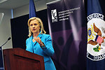 Secretary Clinton Delivers Remarks on the Humanitarian Crisis in the Horn of Africa