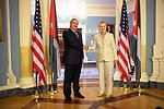 Secretary Clinton Meets With Jordanian Foreign Minister Judeh