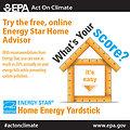 Try Energy Star's Home Energy Yardstick