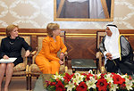 Secretary Clinton Meets With Kuwaiti Officials