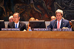 Secretary Kerry and UN Secretary General Ban Ki-moon Discuss Africa's Great Lakes Region