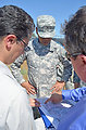 Brig. Gen. David Turner tours Marysville ring levee project