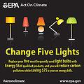 Change Five Lights