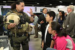 Diplomatic Security Special Agent Talks to Youth at the USA Science and Engineering Festival