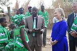 Secretary Clinton With the Lumbadzi Milk Bulking Group in Malawi