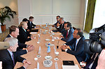 Secretary Clinton and Members of U.S. Delegation Meet With Greek Officials