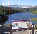 Lakes Basin Interpretative Sign