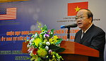 Deputy Minister Bui Cach Tuyen, Ministry of Natural Resources and Environment at the Seventh U.S.-Vietnam Advisory Committee Meeting (JAC)
