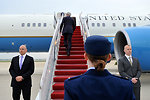 Secretary Kerry Boards Airplane For Flight to Mexico City