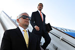 Secretary Kerry Arrives in London For Middle East, Syria, Ukraine Meetings