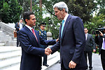 Mexican President Peña Nieto Bids Farewell to Secretary Kerry