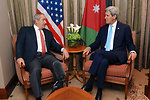 Secretary Kerry Meets With Jordanian Foreign Minister Judeh in London