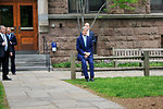 Secretary Kerry Waits to Give Class Day Remarks at Yale University