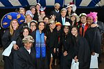 Secretary Kerry Poses With Yale University Seniors After Class Day Ceremonies