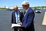 Secretary Kerry Reviews Yale Class Day Remarks With Speechwriter Krupin