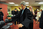 Secretary Kerry Dons Robe For Boston College Commencement Speech