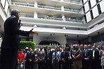 Secretary Kerry Thanks Embassy Mexico City Employees During Visit