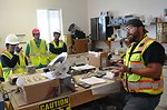 Hiram W. Johnson High School  students visit Folsom Dam auxiliary spillway
