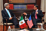 Secretary Kerry Meets With Mexican President Peña Nieto at Los Pinos