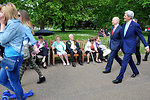 Secretaries Hague, Kerry Take Walk in St. James Park in London