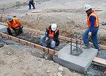 DX Groundwater Treatment Facility concrete pour