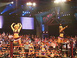 Madison Rayne and Velvet Sky (The Beautiful People) at No Surrender  Category: The Beautiful People
