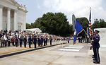WWII 60th Anniversary Airpower Commemoration Wreath Laying ceremony