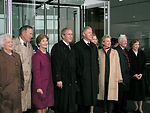 Air Force band performs at Clinton library opening